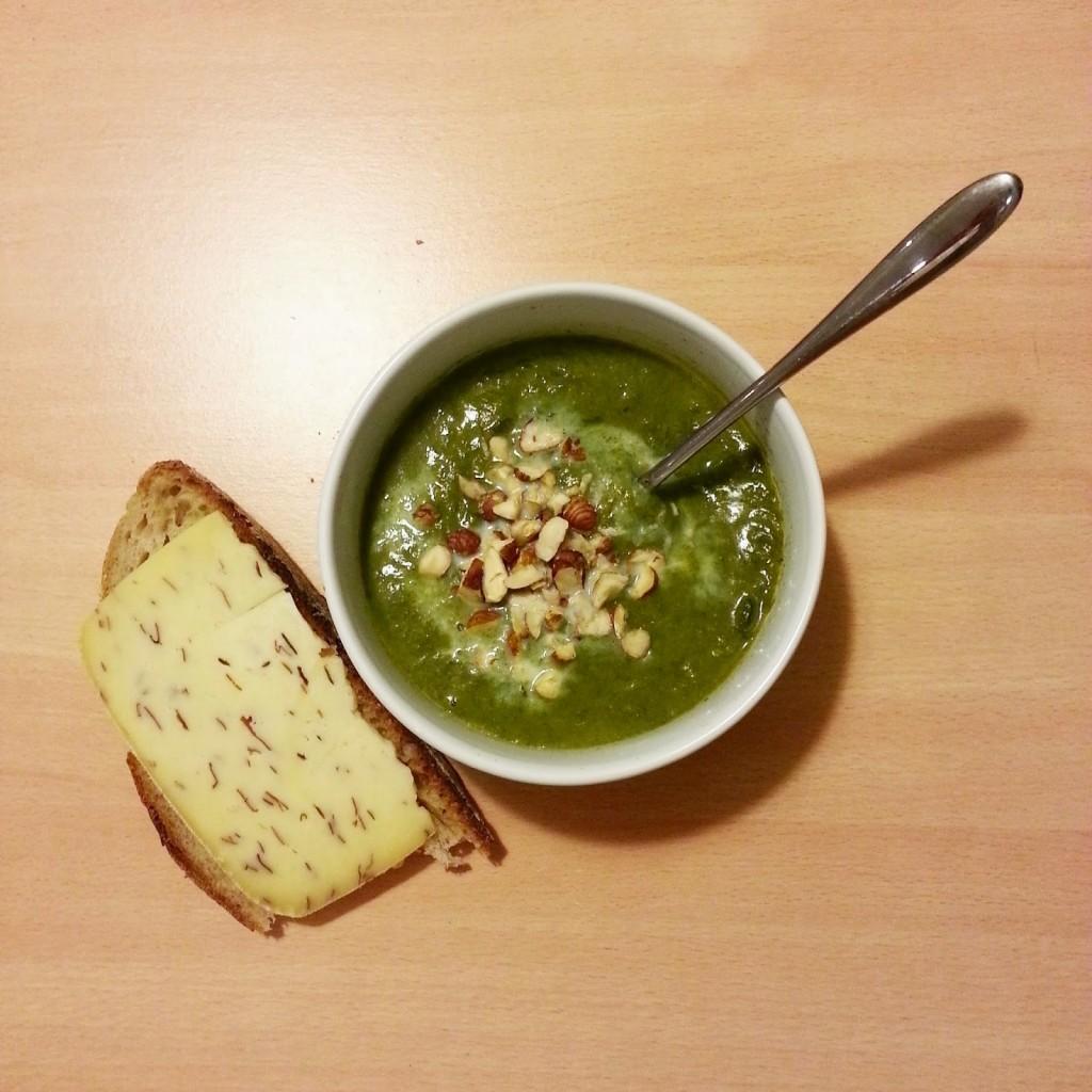 lunchbox d 39 hiver avec la soupe au vert de poireaux. Black Bedroom Furniture Sets. Home Design Ideas