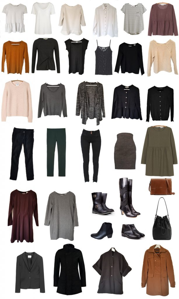 minimalisme Capsule Wardrobe Hiver