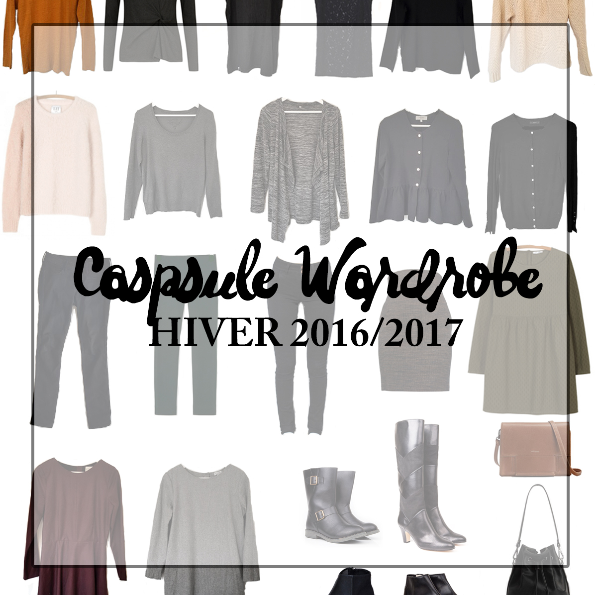 Capsule wardrobe hiver Minimalisme