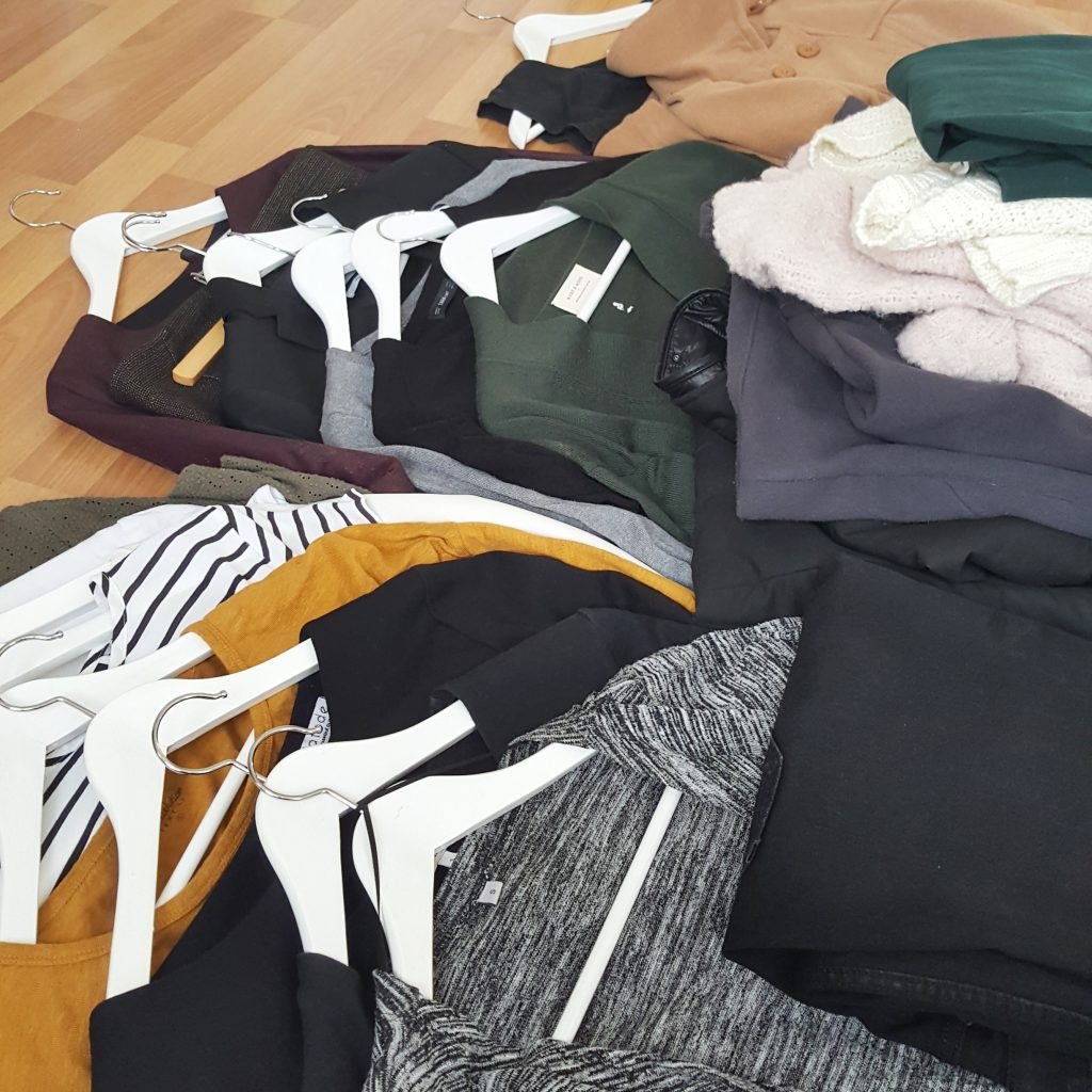 capsule wardrobe transition préparation