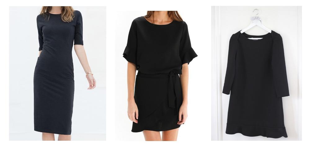 sélection robe noire éthique