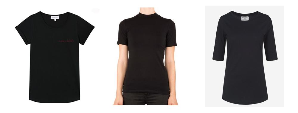 selection t-shirt noir éthiques
