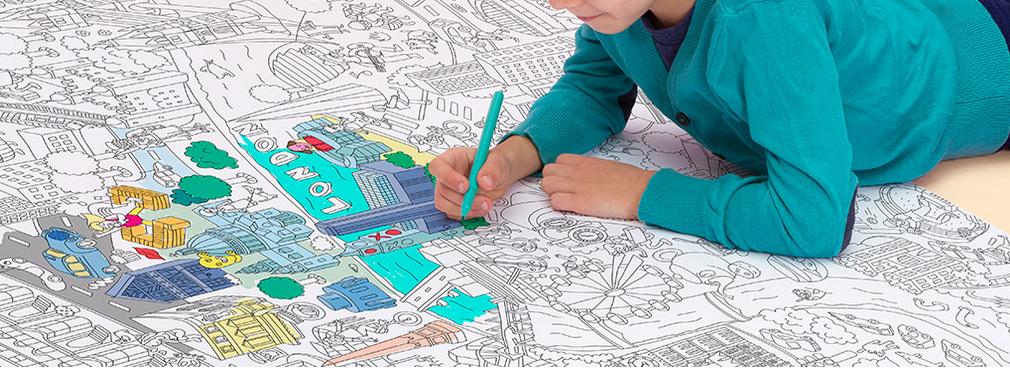 Noël reponsable - sélection enfant OMY coloriage