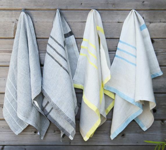 selection Noel reponsable serviettes lin Landmade