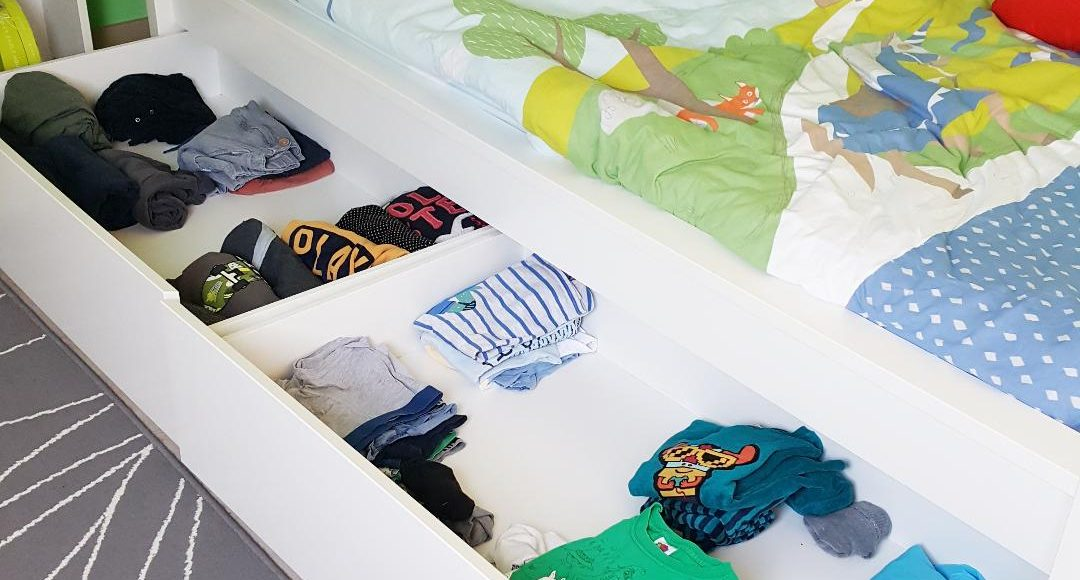garde robe minimaliste des enfants