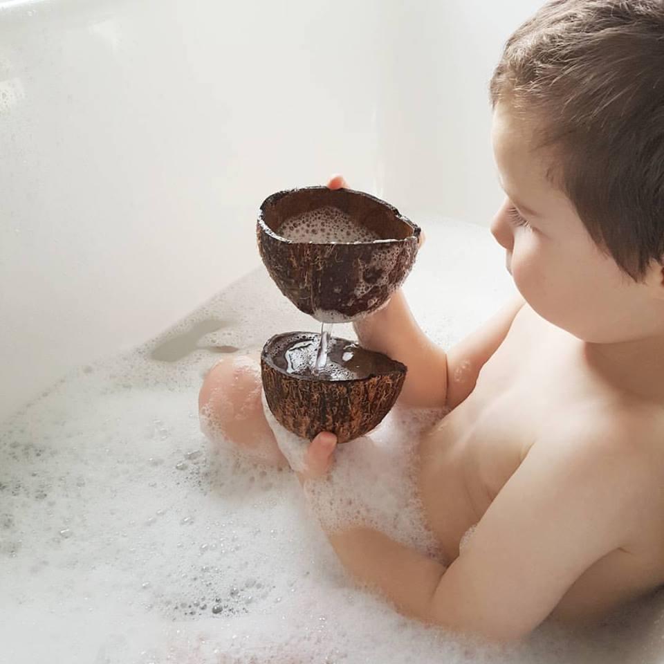 routine soin minimaliste naturelle des enfants