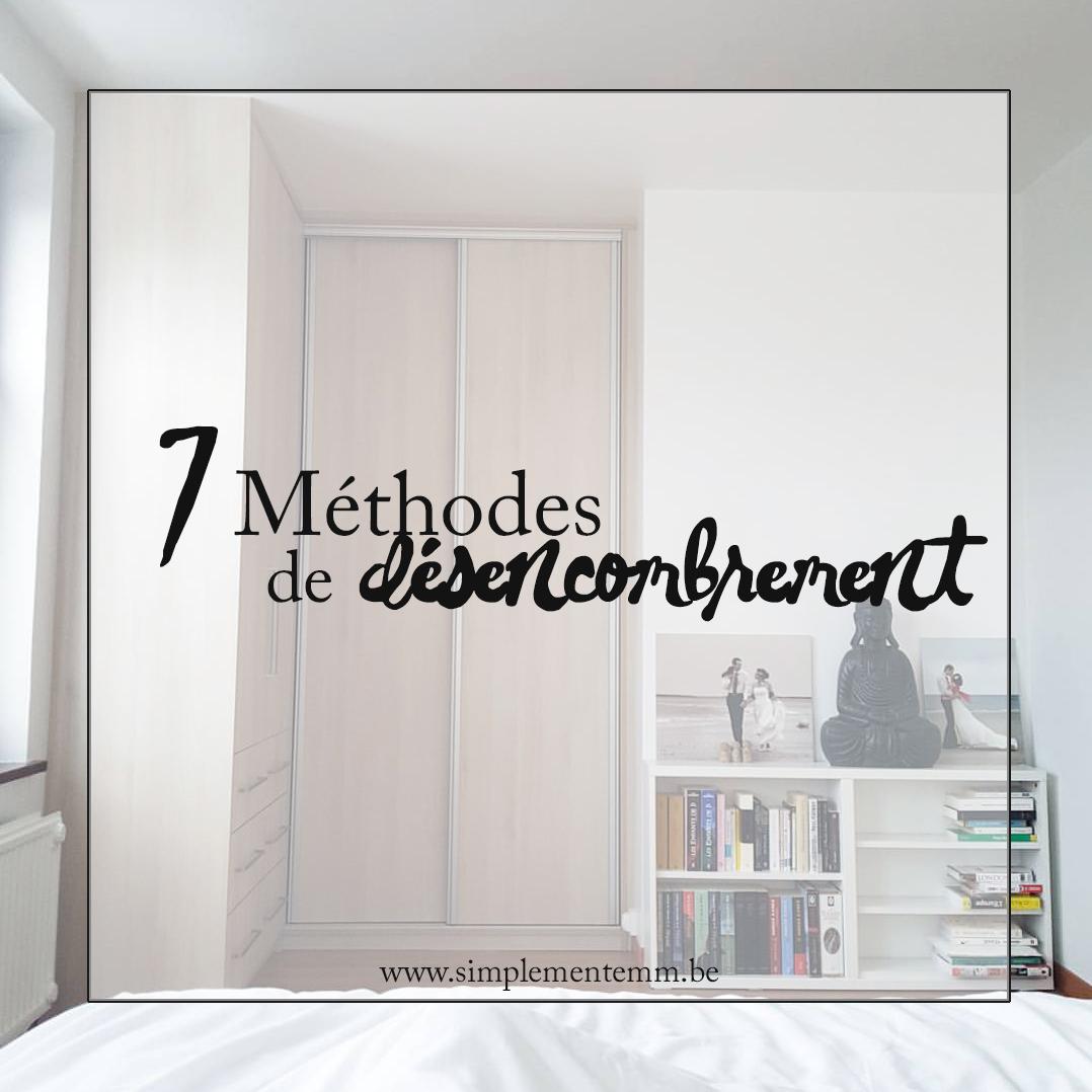 Minimalisme: 7 méthodes pour désencombrer votre intérieur