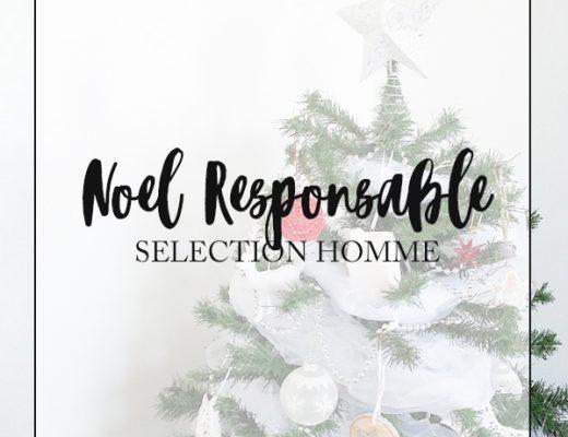 Sélection Noel responsable homme