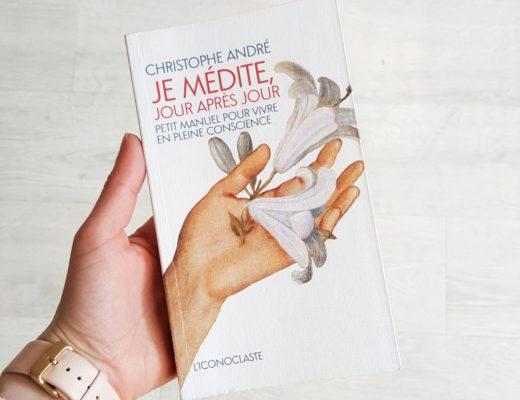 lecture Christophe André, je médite jour après jour